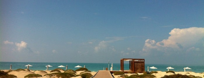 Saadiyat Beach Club is one of UAE.