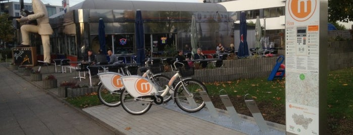 Metropolradstation 7559 M1 Tenderweg is one of Metropolradstationen Essen & Umgebung.