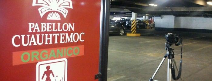 Estacionamiento Pabellón Cuauhtémoc COPEMSA is one of Locais curtidos por Israel.
