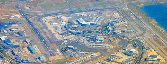 Aéroport International John F. Kennedy (JFK) is one of Foursquare City Int'l Airport.