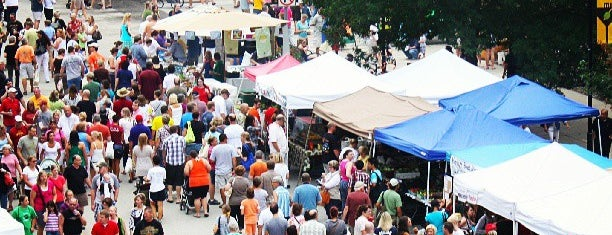 Downtown Des Moines Farmers Market is one of Ryan 님이 좋아한 장소.