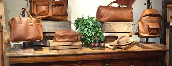 Will Leather Goods 'Homestead Store' is one of ★ Portland.