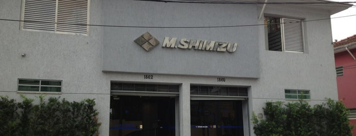 M Shimizu is one of Lugares que freqüento no dia-a-dia.