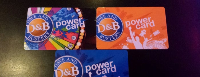 Dave & Buster's is one of New Experiences.
