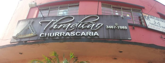 Churrascaria Thradicao is one of Tempat yang Disukai Patricia.