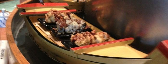 A'float Sushi is one of Lieux qui ont plu à Lillian.