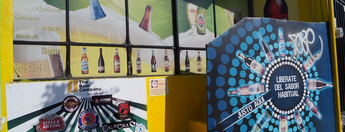 The beer company naucalpan is one of Cerveza.