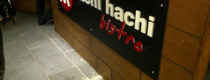 Hachi Hachi Bistro is one of Close Coffee and Food.