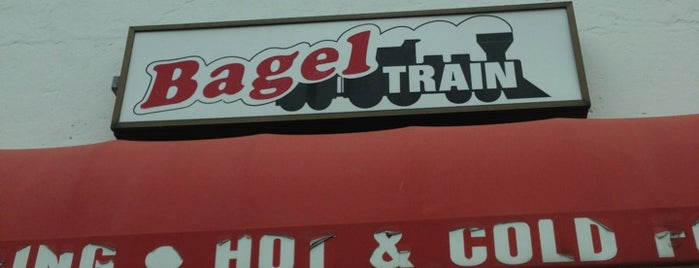 Bagel Train is one of Bakeries.