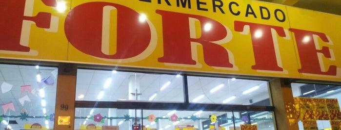 Supermercado Forte is one of Leandro : понравившиеся места.