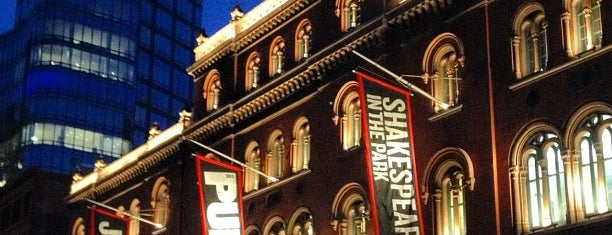 The Public Theater is one of NYC—Favorites for Tourists★.