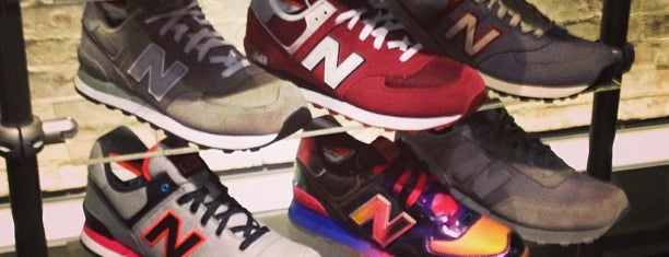 New Balance NYC Flagship Store is one of NYC Men's Shops.