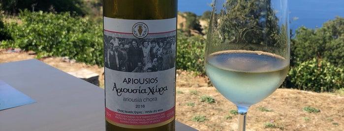 Ariousios Winery is one of Chios - Sakız Adası.