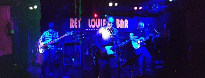 Rey Louie Music Bar is one of Madrid Live Music (1/2).