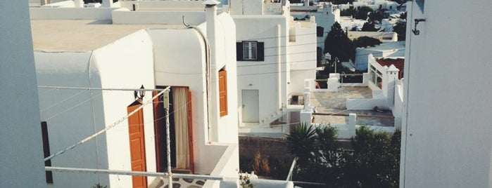 Nazos Hotel is one of Mykonos.