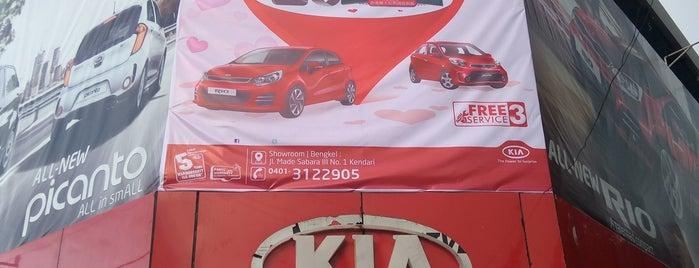 Office Kalla KIA Kendari is one of Fεmmy ℳαηggo🎀 : понравившиеся места.