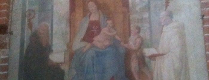Abbazia di Morimondo is one of Luoghi di Leonardo, Naviglio di Bereguardo.