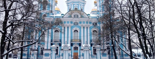 St. Nicholas Naval Cathedral is one of Locais curtidos por Artem.