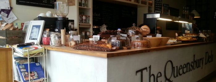 Queensbury Deli is one of Specialty Coffee Shops Part 2 (London).