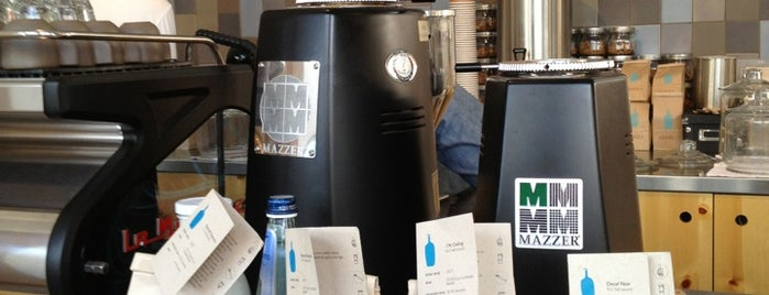 Blue Bottle Coffee is one of For the Love of Caffeine.