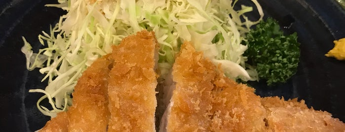 Tonkatsu Sankin is one of Orte, die 西院 gefallen.
