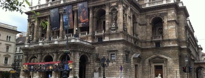 헝가리 국립 오페라 하우스 is one of Budapeste (Hungria).