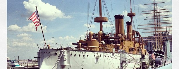 Cruiser USS Olympia is one of Ships modern.