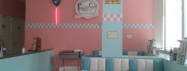 Peggy Sue's is one of Americana.