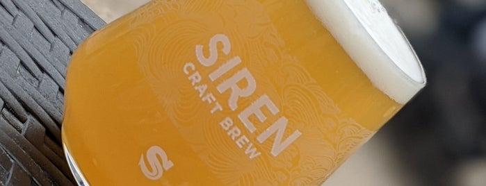 Siren Craft Brewery is one of Carl'ın Beğendiği Mekanlar.