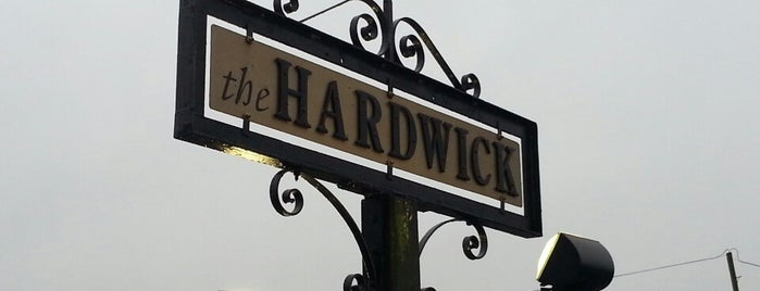 The Hardwick is one of Lugares guardados de Dat.