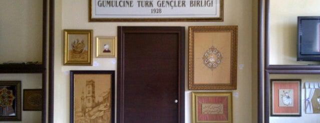 Gümülcine Türk Gençler Birligi is one of Tempat yang Disukai Mehmet Ali.
