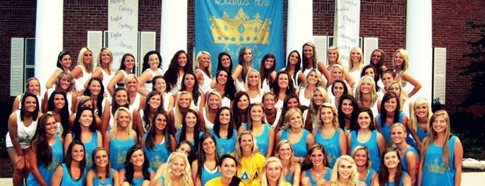 Tri Delta is one of Delta Delta Delta Chapters.
