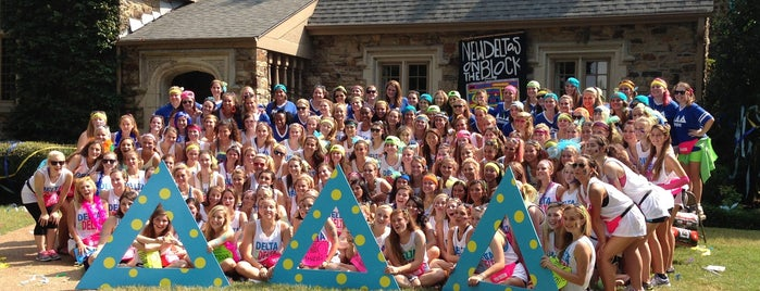 Tri Delta House is one of Delta Delta Delta Chapters.