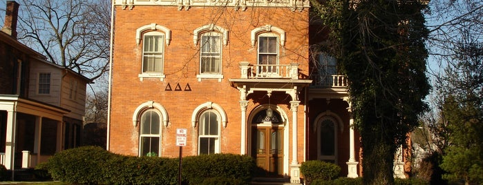 TriDelta House is one of Delta Delta Delta Chapters.