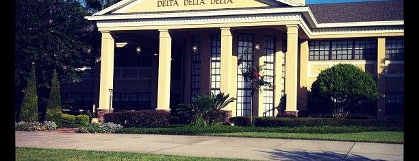 Delta Delta Delta Chapters