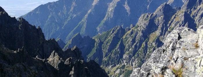 Veľká Lomnická veža (2214 m n. m.) is one of Turistické body v TANAP-e.