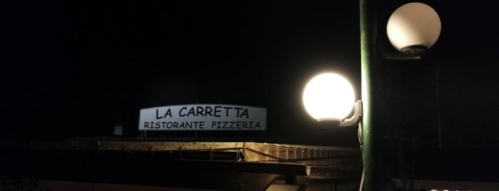 Ristorante La Carretta is one of Locais curtidos por Davide.