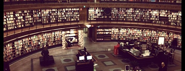 Stadsbiblioteket is one of Stockholm nice.