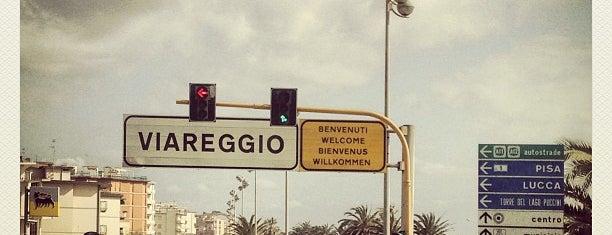 Viareggio is one of Italy.