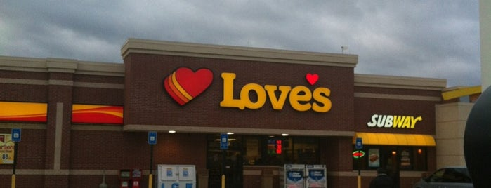Love's Travel Stop is one of J's Liked Places.