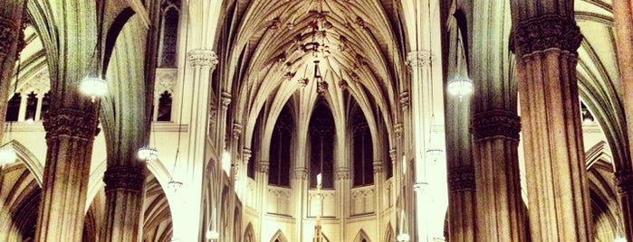 St. Patrick's Cathedral is one of New York.