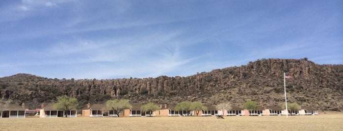 Fort Davis National Historic Site is one of Tempat yang Disukai Diana.