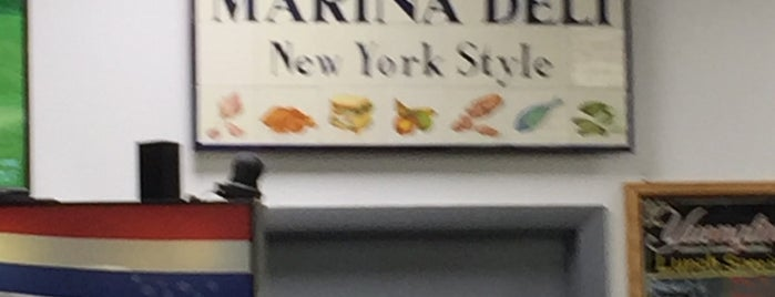 New York Marina Deli is one of Addison 님이 좋아한 장소.