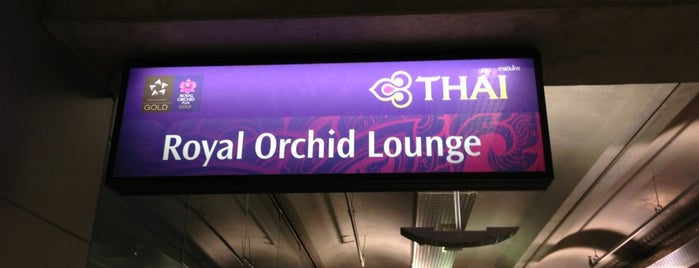 Royal Orchid Lounge is one of 空港 ラウンジ.