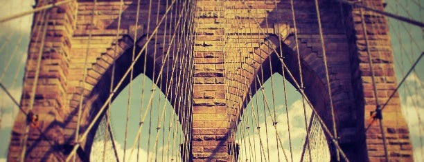 สะพานบรูคลิน is one of Best Places in NYC.