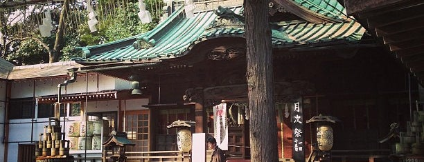 調神社 is one of Lieux qui ont plu à hoya_t.