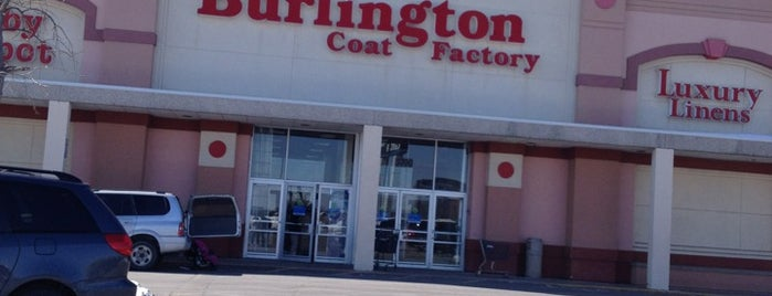 Burlington is one of Foursquare specials.