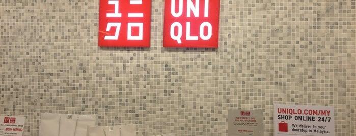 UNIQLO ( ユニクロ) is one of Penang Malezya.