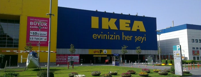 IKEA is one of Lieux qui ont plu à Tughan.