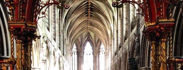 Lichfield Cathedral is one of Churches.